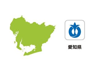 愛知県のイラスト地図