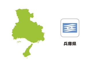 兵庫県のイラスト地図