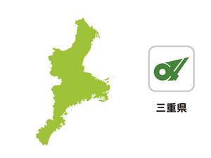 三重県のイラスト地図