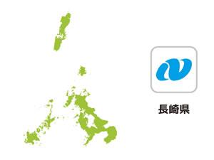 長崎県のイラスト地図