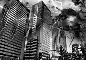 首都直下地震のイメージ図