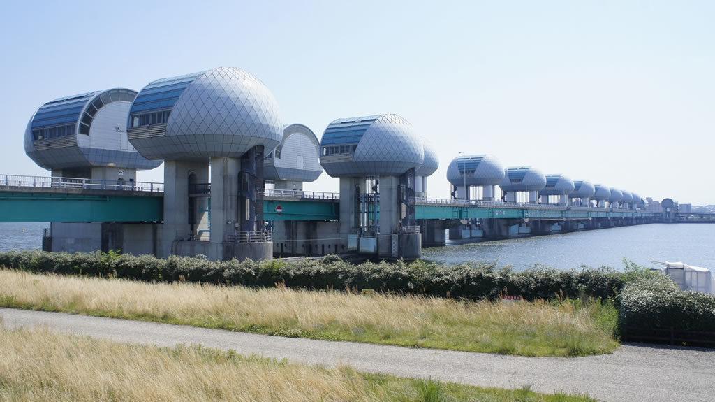 「伊勢湾台風」後に完成した長良川河口堰