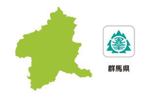 群馬県のイラスト地図