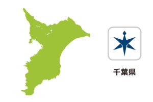 千葉県のイラスト地図