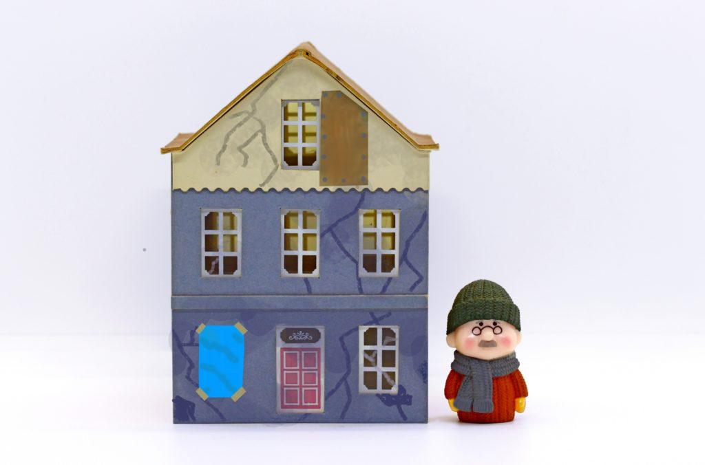 被災後の在宅避難者