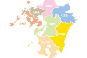 九州7県のイメージ図