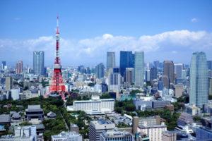 東京タワーとその周辺