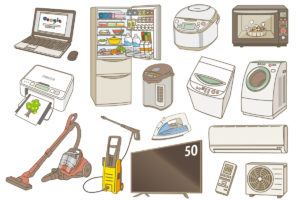 家電製品のイメージ
