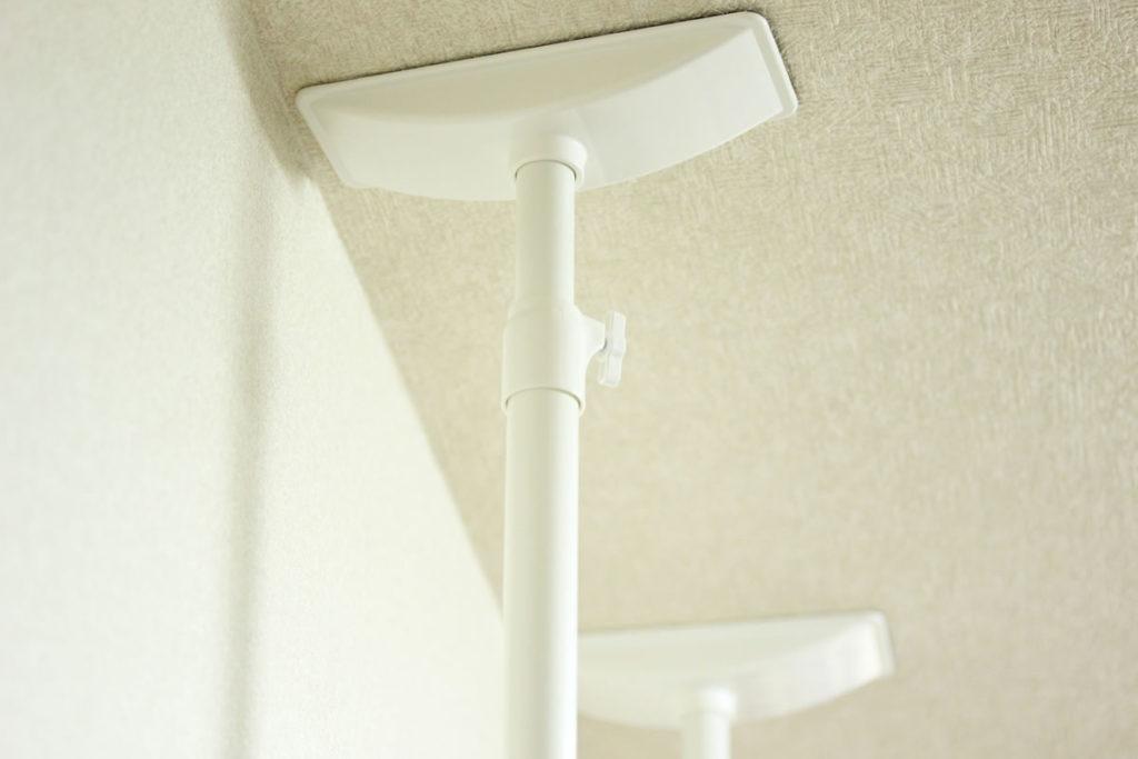 家具転倒防止突っ張り棒のイメージ