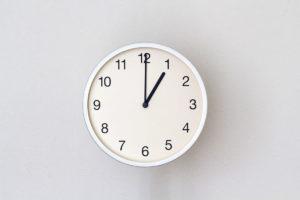 掛け時計のイメージ