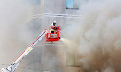 消火作業のイメージ